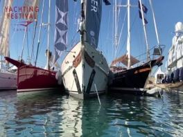 Le Cannes Yachting Festival 2018 vue de la mer