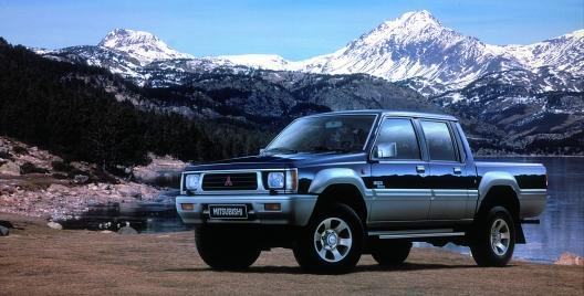 Mitsubishi pickup truck 2a generazione