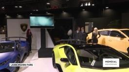 Conférence de presse Lamborghini   Paris Motor Show 2018 720p