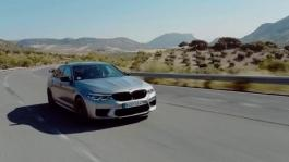 The BMW M5 Competition - on Location Ascari, Spain