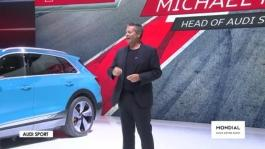 Conférence de presse Audi Sport   Paris Motor Show 2018 720p