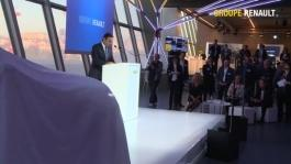 Carlos Ghosn Groupe Renault CEO announces new affordable electric vehicles