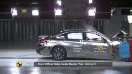 Lexus ES - Crash Tests 2018