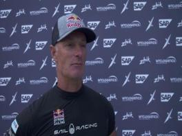 ESS Los Cabos 021218 Post race IV Red Bull Sailing Team Hans Peter Steinacher (AUT) English-German