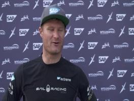 ESS Los Cabos 021218 Post race IV SAP Extreme Sailing Team Rasmus Køstner (DEN) English-Danish