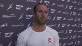 ESS Los Cabos 011218 Post race IV Alinghi Arnaud Psarofaghis (SUI) English-French