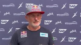 ESS Los Cabos 011218 Pre race IV Red Bull Sailing Team Roman Hagara (AUT) English German