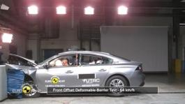 Peugeot 508 - Crash Tests 2018