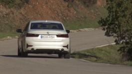 BMW 3 Series - 320d. Country Road Driving Scenes