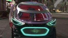 Mercedes-Benz at the CES - On Location Footage