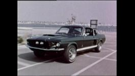 Ford Mustang GT500 Historical Broll