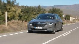 BMW 7 Series. Country Road Driving Scenes