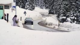 Audi e-tron: sustainable mobility for the World Economic Forum in Davos