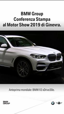 BMW Group Press Conferences at the Geneva Motor Show 2019 SOCIAL