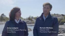 Volvo Penta collaborates with Fountaine-Pajot on electromobility venture