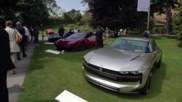 Cars expo at Villa D'Este