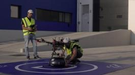 SEAT-and-Grupo-Sese-link-up-via-drone Video HQ Footage