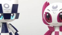 Tokyo 2020 Mascot Robot expressions and movement