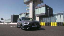 mb 190731 CLA 45 S 4MATIC mountain grey