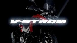 V-STROM 1050 MY2020 tech presentation video chassis ver