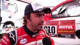 2020 Dakar Rally Stage 8 - Fernando Alonso (ENG)