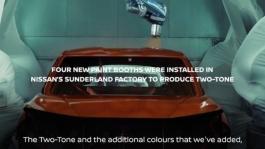 Nissan JUKE 2-tone paint process 15sec 16x9 - EN