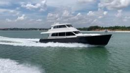GB85 sea trials