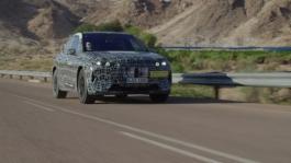 Extreme heat test runs, tar road