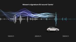 Nissan LEAF MY21 Canto - Sound animation