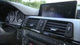 driving scene interior