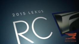 Lexus reveals the 2015 RC F performance coupe at the NAIAS i