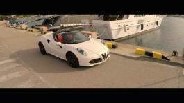 Alfa Romeo 4C Spider videoclip