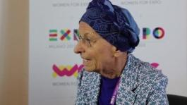 Emma Bonino_ Presidente di WE - Women for Expo_ racconta l_incontro a Expo Milano 2015 con Michelle Obama